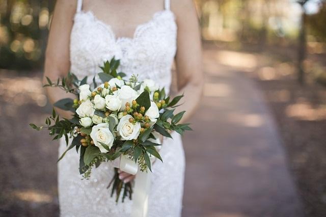 Bouquet Sposa Per Abito Pizzo.Bouquet Sposa