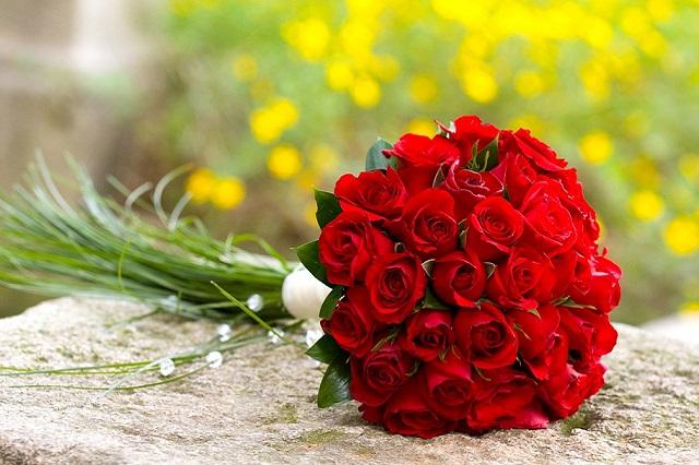 bouquet rosso 1