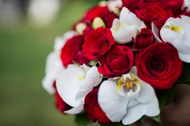 Bouquet Da Sposa Rosso.Bouquet Sposa Rosso