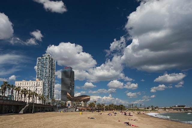 barcelona-spiaggia