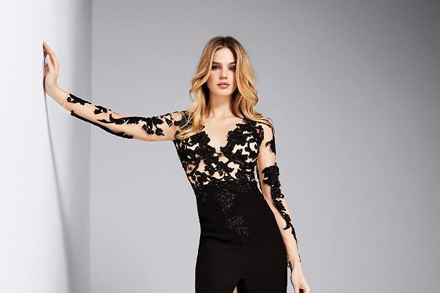 giliana pronovias2018 anteprima. Eleganti e raffinati  ecco gli abiti della collezione  cerimonia del brand Pronovias per ... 867c60fbf2b