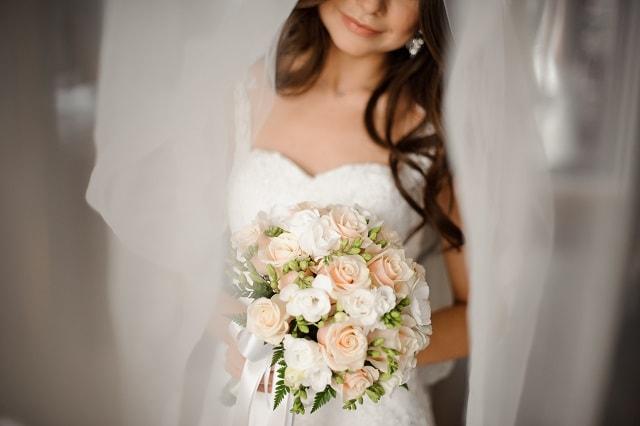 Bouquet Romantico Sposa.Bouquet Sposa Romantico