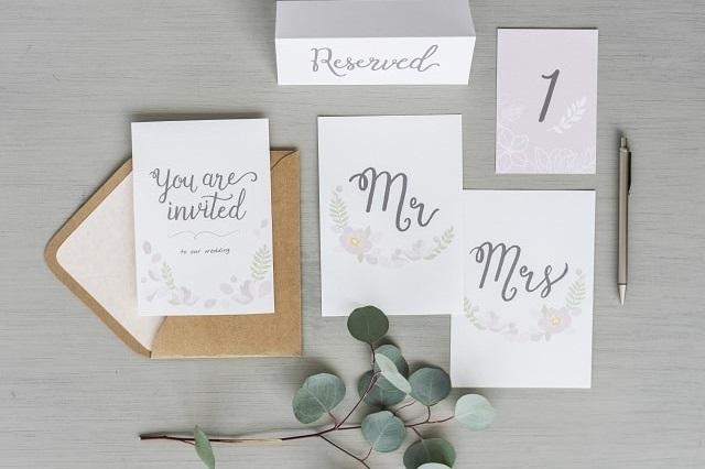 Disegni Per Partecipazioni Di Matrimonio.Partecipazioni Ad Acquerello